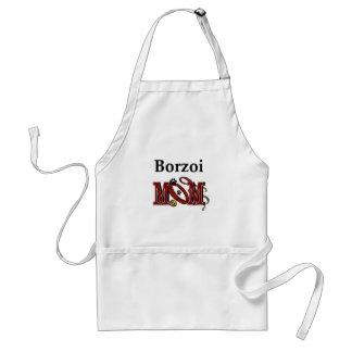 Borzoi-Mamma-Geschenke Schürze