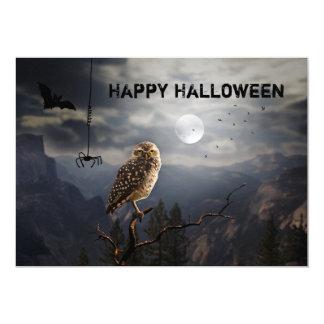 Böse Halloween-Abendessen-Party Einladung