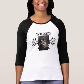 Böses Hexe-Vertrautes T-Shirt