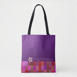 BOSHAFTE - lila, rosa, aquamarin - Handtasche