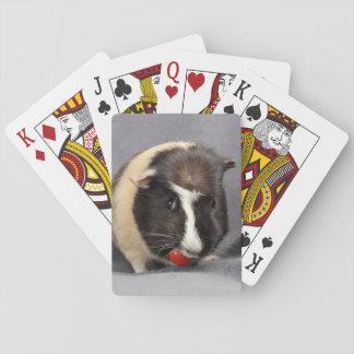 Boshaftes Meerschweinchen-Spielkarten Spielkarten