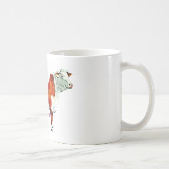 Bossy stolzes auf es Kuh Kaffeetasse