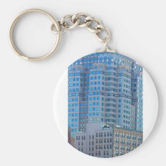 BOSTON-Gebäude-Turm-Architektur Schlüsselanhänger