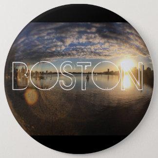 Boston MA Runder Button 15,3 Cm