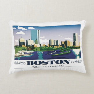 Boston, Massachusetts Zierkissen