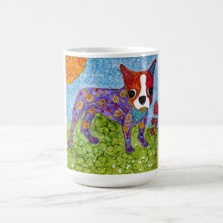 Boston-Terrier 15 Unze-Tasse (Sie können besonders Kaffeetasse