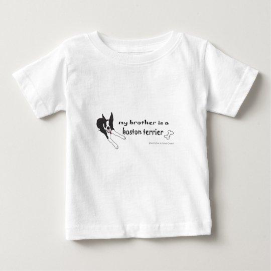 Boston-Terrier Baby T-shirt