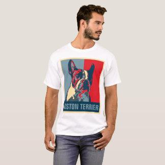 Boston-Terrier-Hoffnung inspiriert T-Shirt