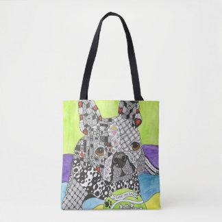Boston-Terrier-Taschen-Tasche (Sie können Tasche