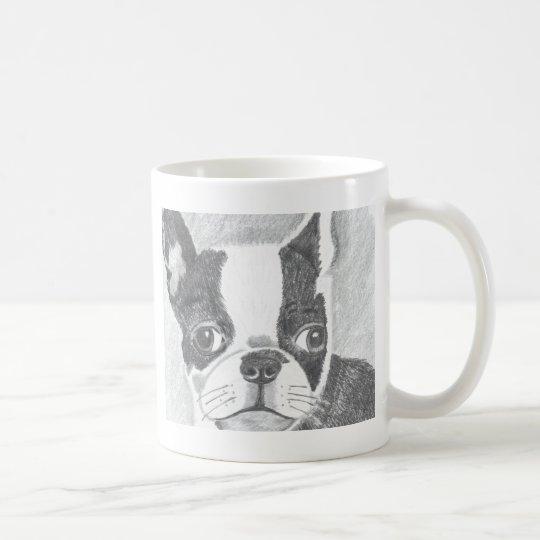 Boston Terrier Tasse