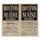 Boston- und Maine-Eisenbahn Poster