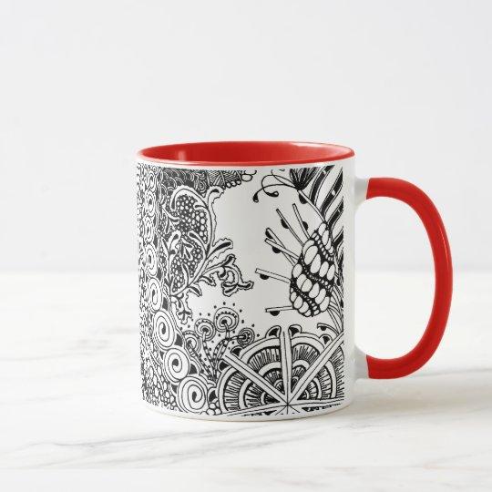 Botanisch-inspirierte Tasse