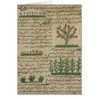 Botanische Pflanzen, Illustration von ' Karte