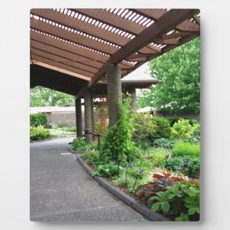 Botanischer Garten-Natur-Liebhaber-Paradies Fotoplatte