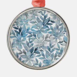 Botanischer Garten Silbernes Ornament