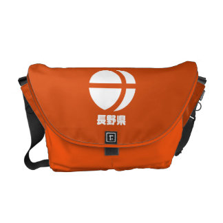 Bote-Tasche Naganos Kamon Kuriertaschen