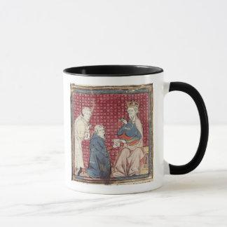 Boten, die Karl der Große erklären Tasse