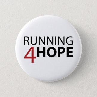 Bóton Running4Hope Runder Button 5,1 Cm