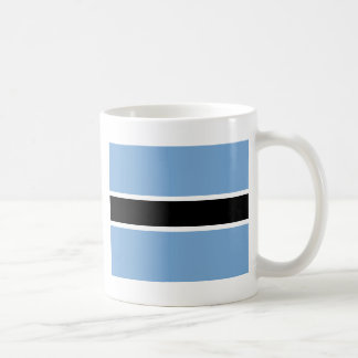 Botswana-Flagge Kaffeetasse