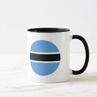 Botswana-Flagge Tasse