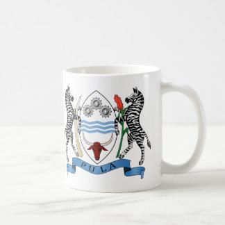 Botswanas Wappen Tasse
