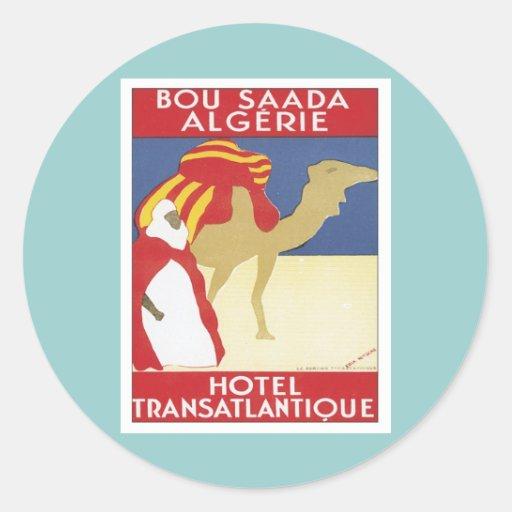 Bou vintage Saada Algérie Autocollants