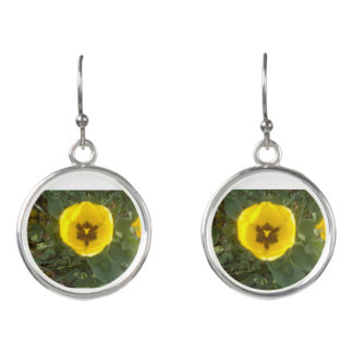 Boucles D'oreilles Boucles d'oreille jaunes de tulipe