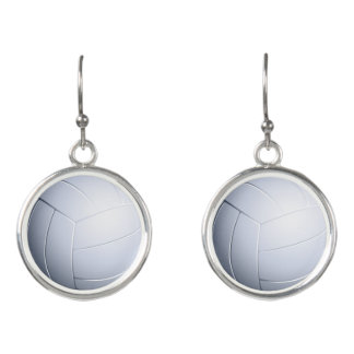 Boucles D'oreilles Cadeaux de sport du volleyball  