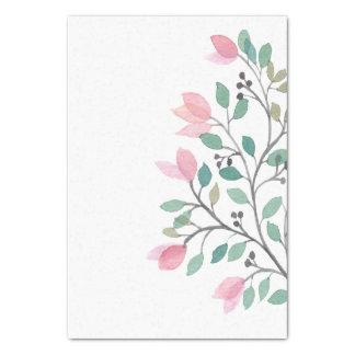 Bouganvilla-Aquarell-Seidenpapier Seidenpapier