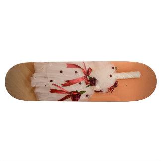 Bougie de baptême skateboards personnalisés