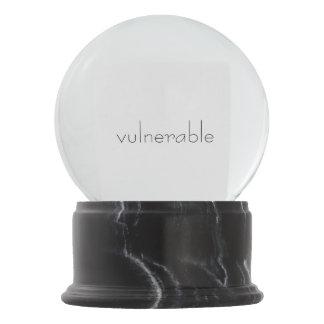 Boule À Neige Globe de neige de V*lnerable
