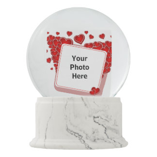 Boule À Neige Globe de neige de Valentines