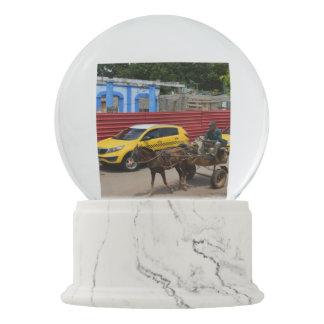 Boule À Neige Vieux Monde de chariot de cheval du Cuba et