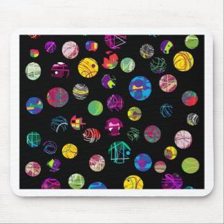 Boules espiègles tapis de souris