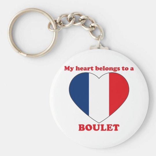 Boulet Standard Runder Schlüsselanhänger