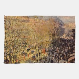 Boulevard-DES Capucines durch Claude Monet, schöne Handtuch