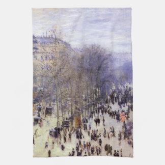 Boulevard-DES Capucines durch Claude Monet, schöne Küchentuch
