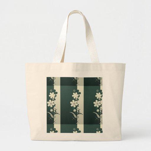 bouquet de tu fleuris - bunch of flowers sacs en toile