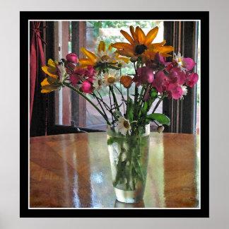 Bouquet mélangé poster