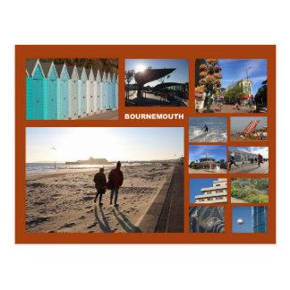 Bournemouth Multibild Postkarte