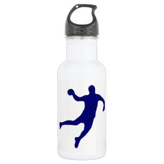Bouteille D'eau En Acier Inoxydable Silhouette de handball