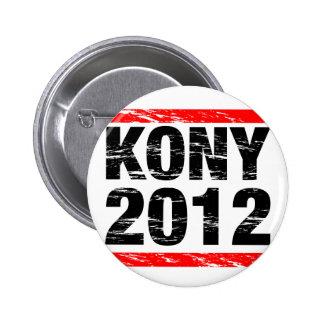 Bouton de Kony 2012 Badge Rond 5 Cm