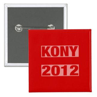 Bouton d'égalité de Kony Badge Carré 5 Cm