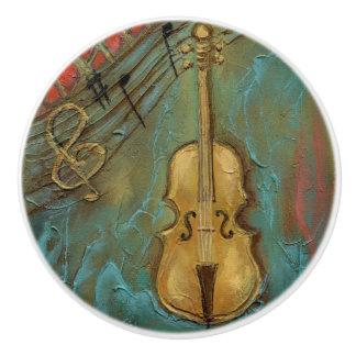 """Bouton en céramique """"de violoncelle de Mello"""""""