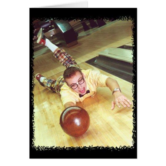 Bowling_Nerd Grußkarte