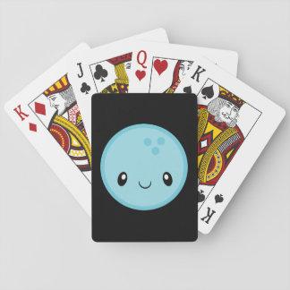 Bowlings-Ball Emoji Spielkarten