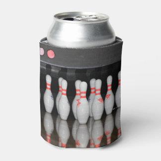 Bowlings-Button kann cooler Dosenkühler
