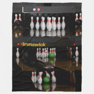 Bowlings-Decke (groß) Fleecedecke