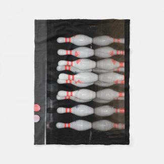 Bowlings-Decke (klein) Fleecedecke