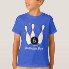 Bowlings-Geburtstags-Shirt - Dunkelheit T-Shirt